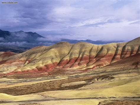 nature john day fossil beds national monument oregon