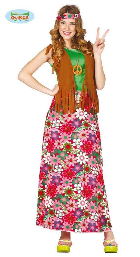 figli dei fiori abbigliamento carnevale vestiti hippie anni 70