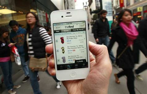 Smart Phone Smart Shopping by Shopping On A Smartphone
