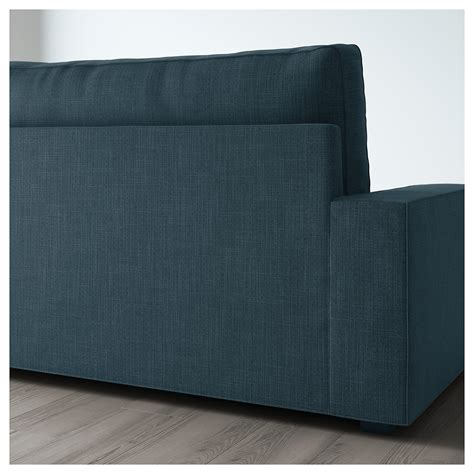 two seat sofa bed vilasund two seat sofa bed hillared blue ikea