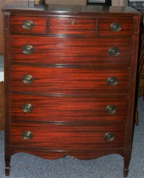 Dixie Dresser by Vtg Antique 1940 S Dixie Chippendale Style Mahogany