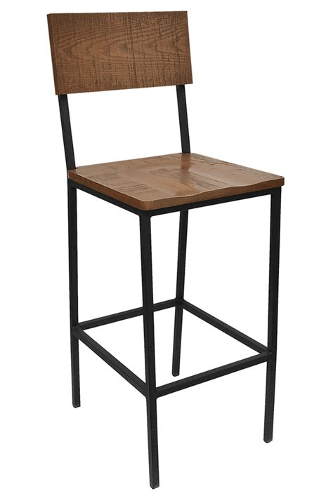 restaurant metal bar stools the henry steel bar stool with distressed wood bar