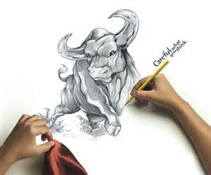 taurus bull tattoo drawing
