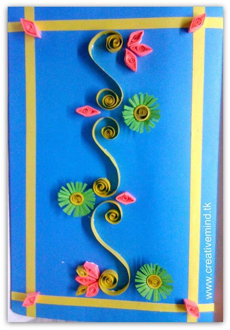 Quilling Paper Craft Tutorial - s day quilling card