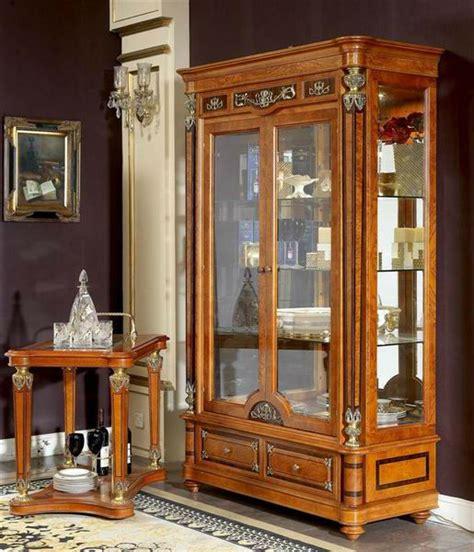 Lemari Antik european high end design neo classic antik furniture 0029 wooden showcase buy classic living