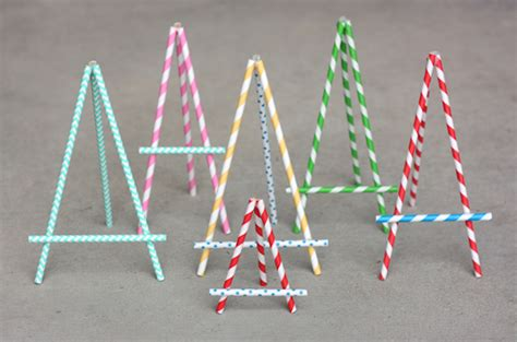 How To Make A Paper Easel - introducing 21 new ways to use paper straws not just for