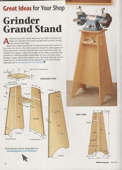 bench grinder stand plans grinder grand stand woodworking talk woodworkers forum