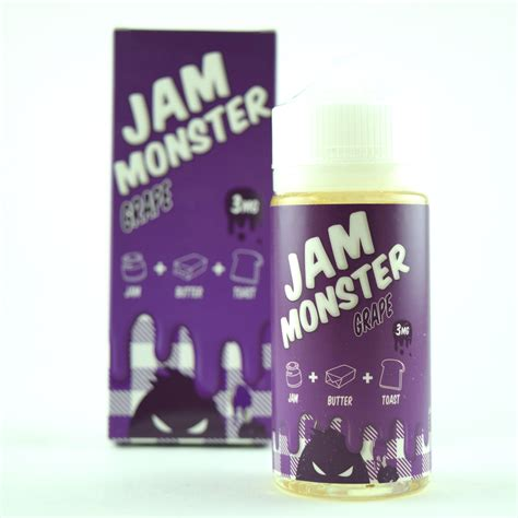 E Liquid Vapor Vape Jam Grape 3mg 100ml 1 jam grape