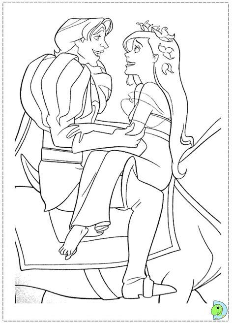 enchanted princess coloring pages enchanted forest coloring pages