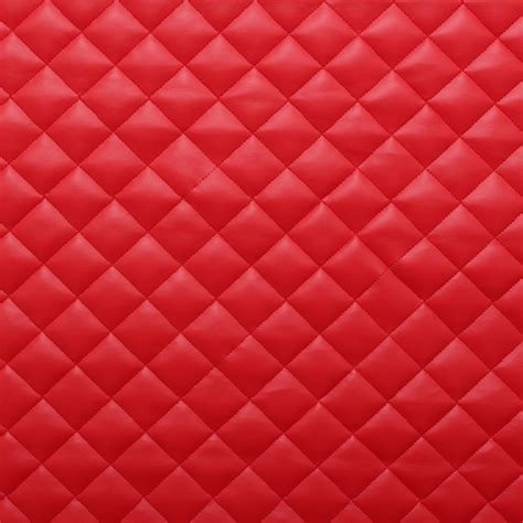 interior upholstery fabric quilted leather diamond padded cushion faux leather