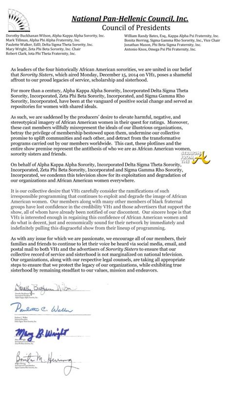 Delta Zeta Letter Of Recommendation sororitysisters backlash continues nphc issues statement