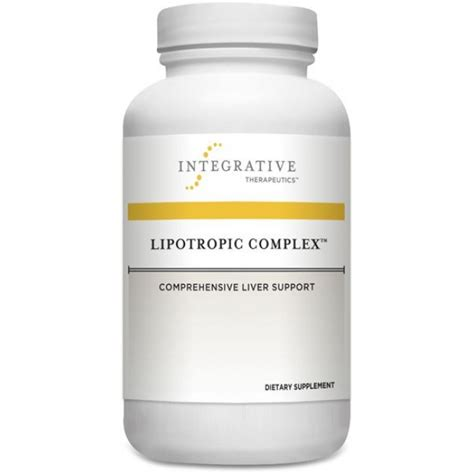 Lipotropic Detox Reviews by Integrative Therapeutics Lipotropic Complex 90 Capsules
