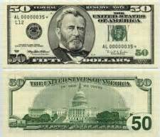 The hundred dollar bill is worth one hundred dollars 100