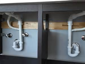 plumbing hack for ikea rinnen and godmorgon sink