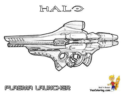 halo guns coloring pages fierce halo coloring pages halo 5 coloring free