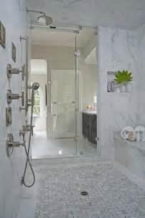 Royal stone amp tile carrara marble bathroom contemporary