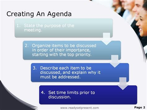 Meetings Powerpoint Ppt Content Modern Sle Meeting Agenda Template Powerpoint
