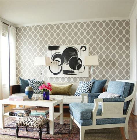 wallpaper accent wall decor and more pinterest