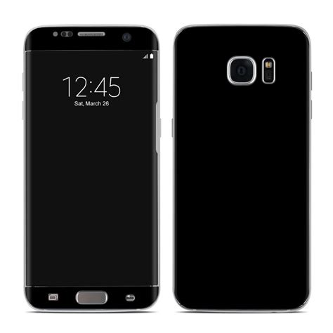 Skin Samsung S7 Edge S7 Flat Black Carbon Texture 3m samsung galaxy s7 edge skin solid state black by solid