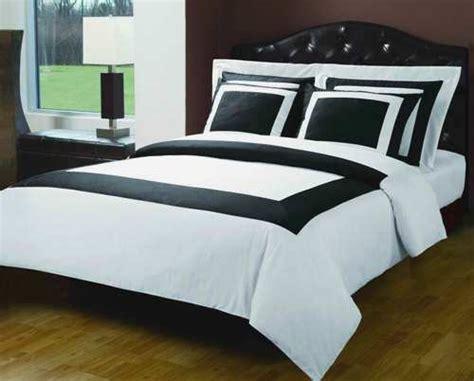 white hotel bedding black white hotel bedding set