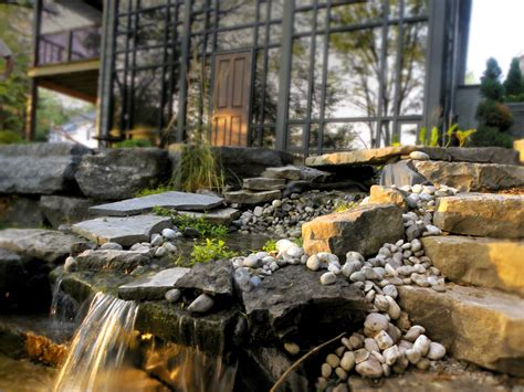 backyard fountains and waterfalls garden waterfalls 2 homeexteriorinterior com