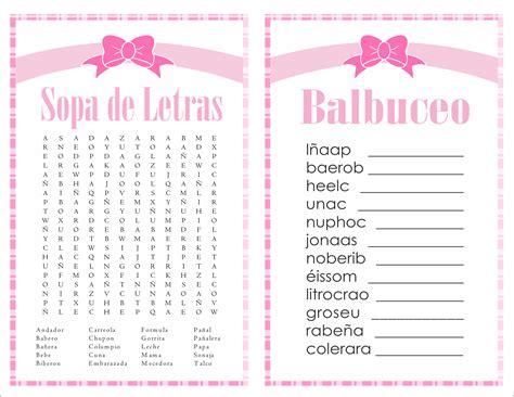 sopa de letras de baby shower para imprimir gratis apexwallpapers 2 in 1 games sopa de letras and balbuceo baby shower pink