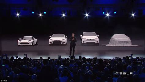 Tesla Explained Elon Musk Unveils Tesla S 35 000 Model 3 Car Daily Mail