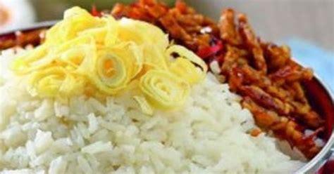 membuat nasi uduk istimewa cara membuat dan resep nasi uduk gurih