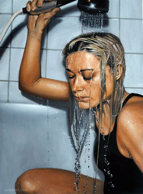 20 Beautiful And Hyper Realistic Paintings By Sweden