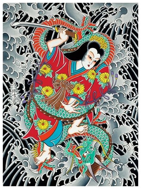traditional japanese tattoo artist 58 best oiran 花魁 courtesan images on irezumi