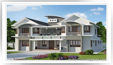 Bedroom luxury villa design 5091 sq ft plan 149 acube