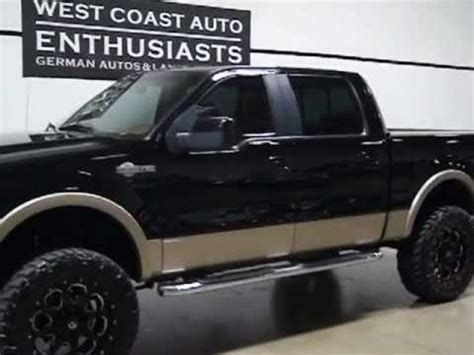 2008 ford f150 super crew king ranch youtube