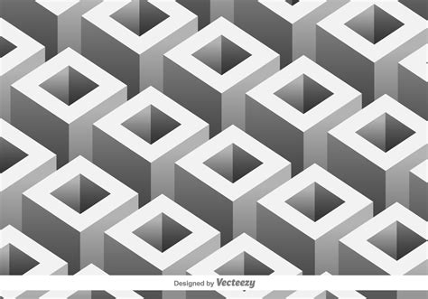pattern for geometric shapes vector pattern with 3d geometric shapes download free