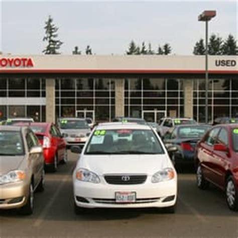Rodland Toyota Everett Washington Rodland Toyota Pre Owned Vehicles Car Dealers Everett