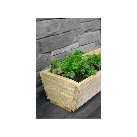 herb planter box herb planter box 1200 long 4x divisions breswa