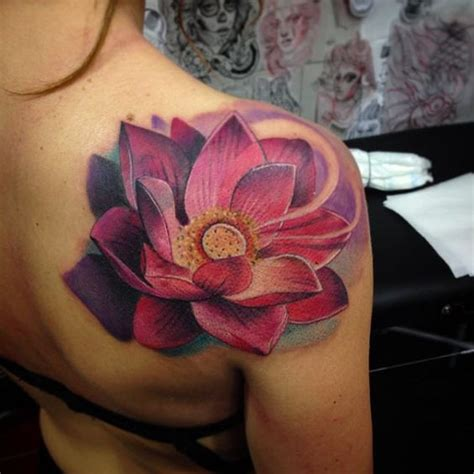 lotus flower shoulder tattoo 101 lotus flower ideas to get your excited