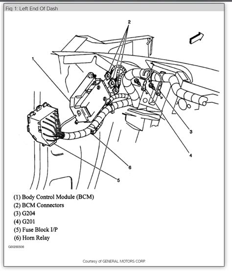 chevy horn relay diagram free wiring diagrams