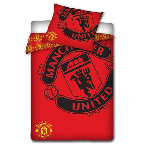 manchester united bed linen manchester united bedroom accessories bedding lighting
