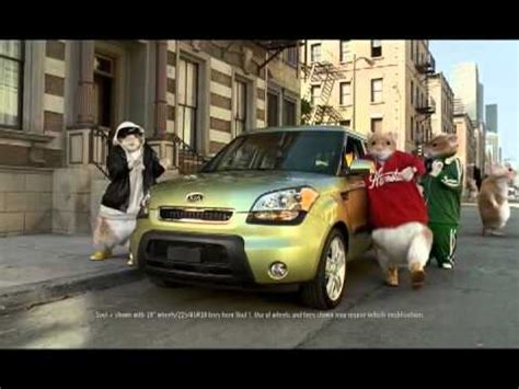 Kia Commercial With Mice 2010 Kia Soul Hamster Commercial Black Sheep Kia Hamsters