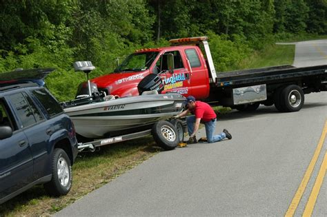 when something goes wrong trailering boatus - Boat Trailer Tire Seized