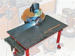 how to build a welding table tips for building a welding table rod network