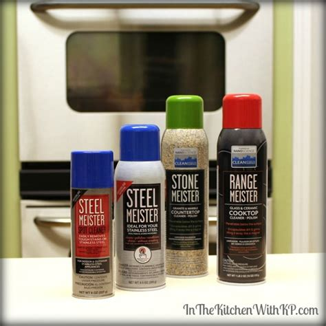 stop spots  stainless appliances  meister cleaners