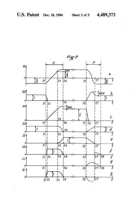 snubber capacitor voltage rating patent us4489373 non dissipative lc snubber circuit patents