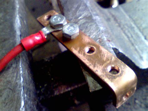 Accu Mobil Timor membuat kabel grounding sephia