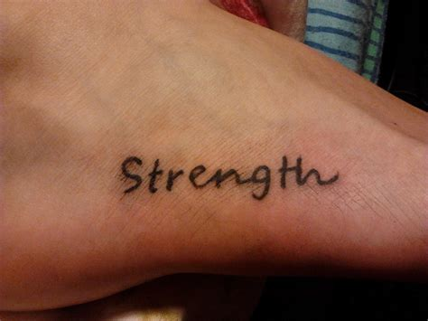strength tattoos strength images designs