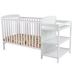 Crib With Changing Table Attached On Me 2 In 1 Size Crib And Changing Table Combo White Mini Crib With