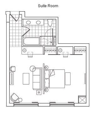 layout hotel room typical hotel room floor plan hotel rooms and suites