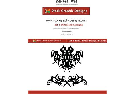 tattoo designs download tribal designs free vector stock