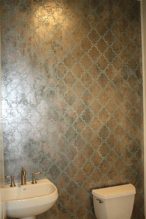 metallic paint in bathroom 123 best images about paint and accent wall ideas on pinterest