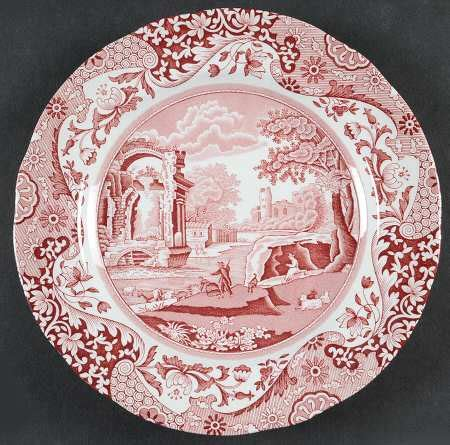 Spde Pink spode pink italian at replacements ltd